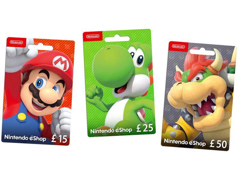 Nintendo eShop Gift Card, The Game Beater, thegamebeater.com
